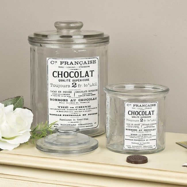 vintage bathroom accessories glass storage jars