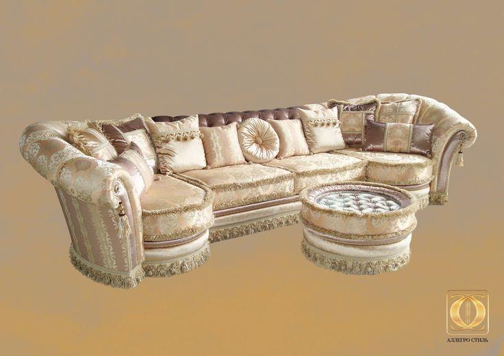 Коллекция итальянской мебели VIA MAESTRI от ALLEGRO-STYLE: комплект Флоренция
