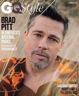 Brad Pitt es portada de la nueva edición de la revista GQ magazine