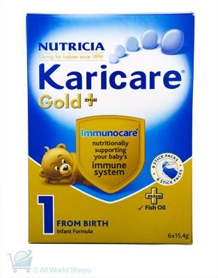 Gold Plus - Step 1 Karicare Sachets http://www.shopnewzealand.co.nz/en/c/Karicare