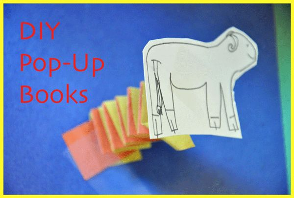 Easy Kid Writing Idea: Pop-Up Book Imagination Soup Fun Learning and Play