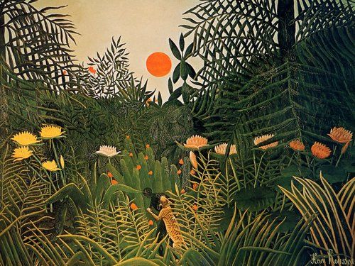 BC Fine Art Visual Art Henri Rousseau is an excellent artist for picture study and inspiration for projects in grade four (habitats, adaptations)