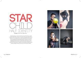 My Paul Stanley magazine layout!