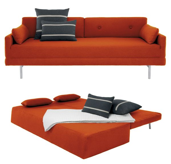 one night stand sofa by blu dot better than a futon for the office