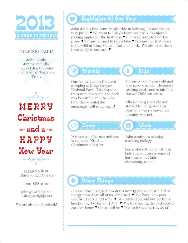 32 best CHRISTMAS  LETTER images on Pinterest Christmas - christmas card letter templates