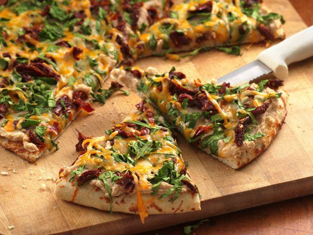 White bean & spinach pizza: White Beans, Spinach Pizza, Betty Crocker, Healthy Pizza, Meatless Dinners, Pizza Recipes, Money Save Meals, Healthy Recipes, Heart Healthy