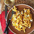 Mac' & cheese au potimarron et chèvre, le plat confort food tout-en-un - le miam-miam blog