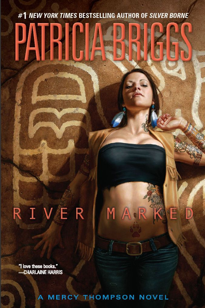 .: Books Covers, Dan Do, Books Worth, Patricia Briggs, Rivers T-Shirt, Thompson Series, Rivers Mark, Mercy Thompson, Mark Mercy