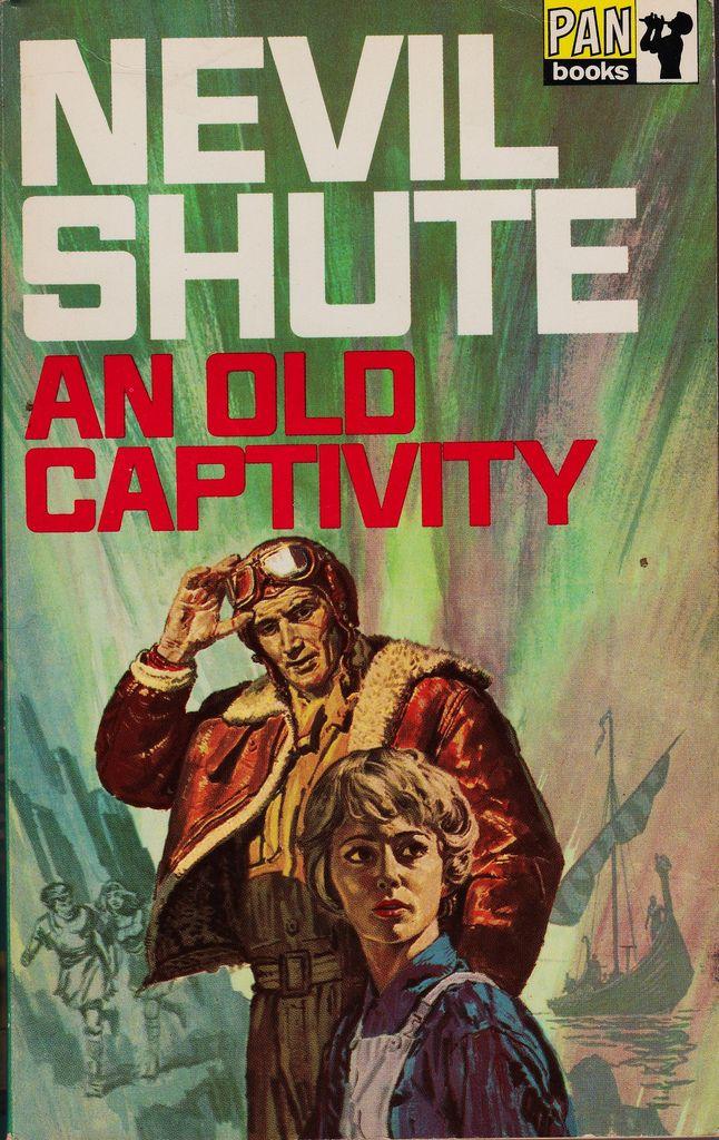 Nevil Shute: An old captivity. Pan Books 1969 (4th printing). Cover art by Hans Helweg.