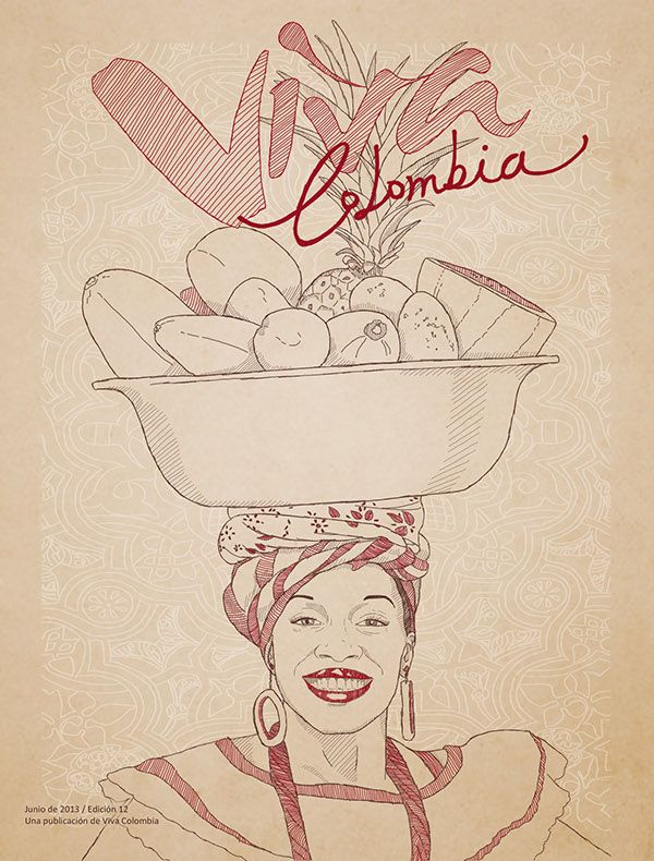 Viva Colombia on Behance