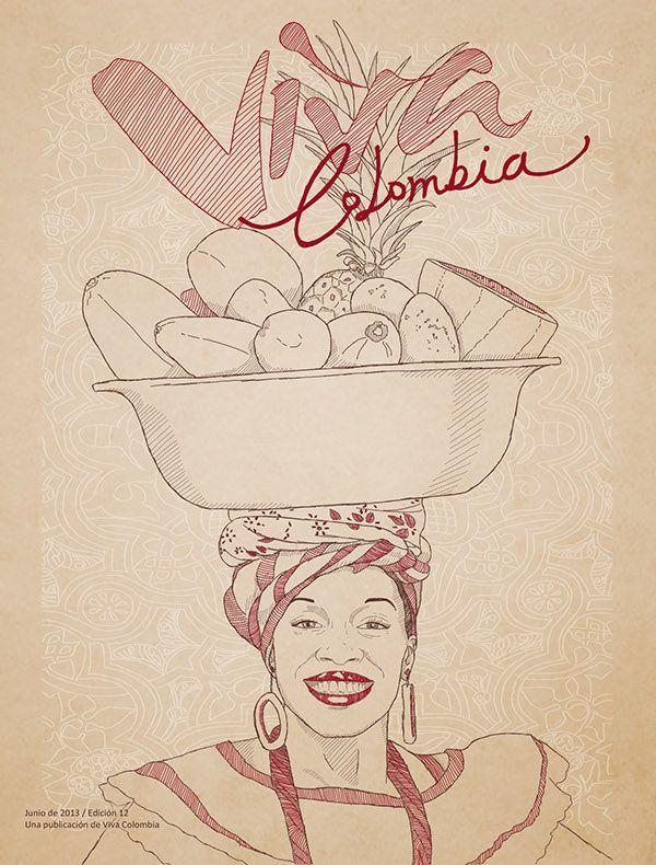 Viva Colombia on Behance