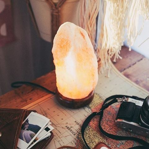 Saltstone Lamps to create the perfect mood :) Earthbound Trading Co.