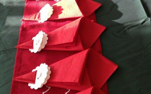 25 einzigartige weihnachten serviettenringe ideen auf. Black Bedroom Furniture Sets. Home Design Ideas