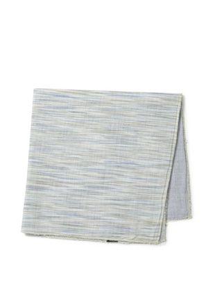 42% OFF Cotton Treats Men's Kellen Reversible Pocket Square, Brown/Blue