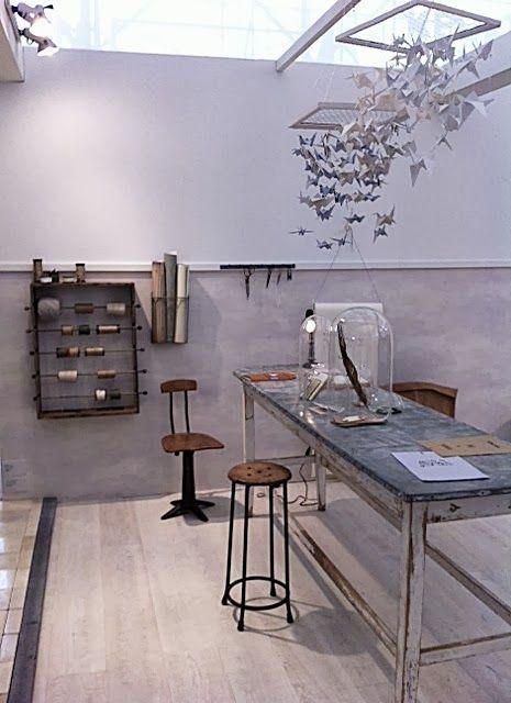 Design Keuken Lamp : Papier atelier in het ariadne at Home huis Woonbeurs 2013
