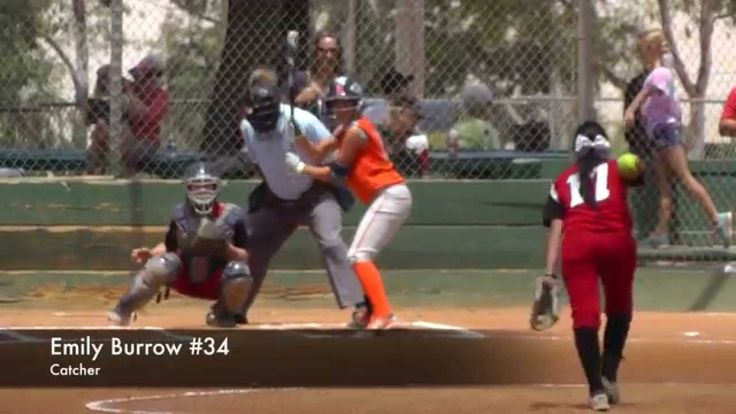 Emily Burrow Catcher Strike Force Vs Pro Swing 2014 Tcs World Series Softball World Series Travel Softball World Series