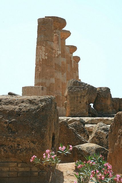 Temple of Hercules - Valley of the Temples - Agrigento, Sicily, Italy