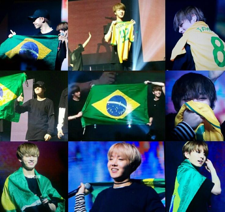 #TWTinBrazil BTS The Wings Tour 2017