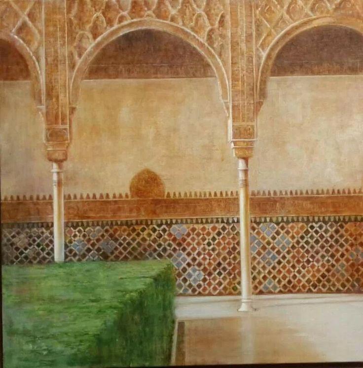 Alhambra. Patio de los Arrayanes.