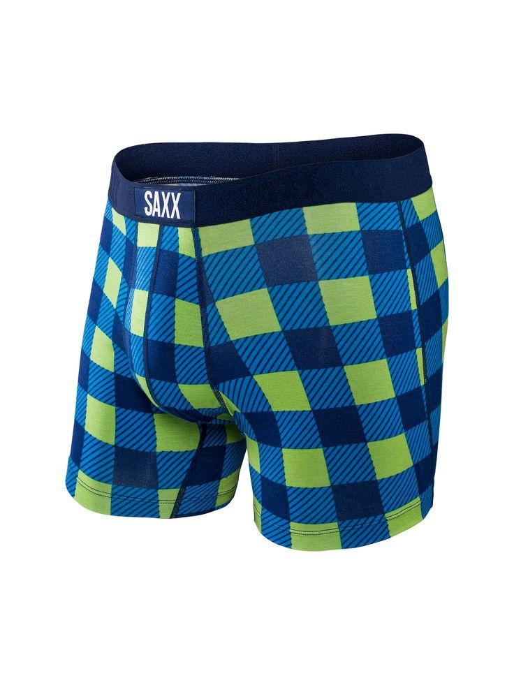 SAXX Underwear Vibe - Weekend Plaid www.saxxunderwear.com