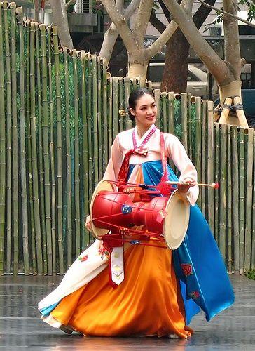 Danza tradicional Koreana