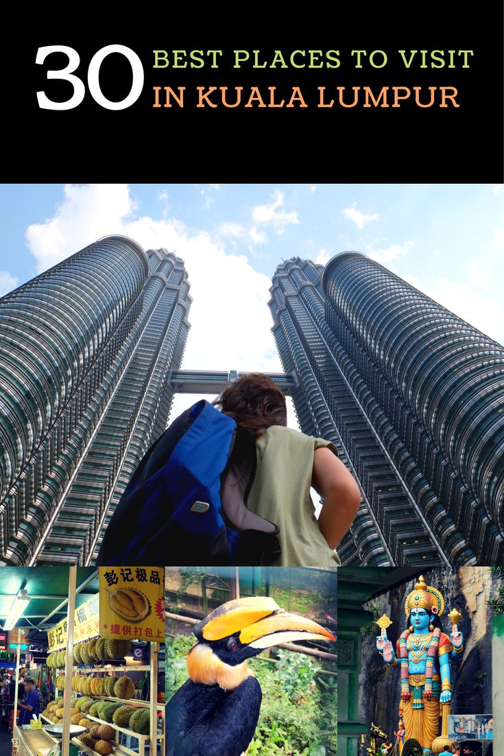 Kuala Lumpur is one of our favorite cities in the world. And here is our list of the best places to visit in Kuala Lumpur, capital of Malaysia.