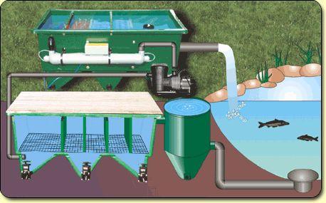 Q a alternative filter installations kockney koi for Pond filtration systems ideas