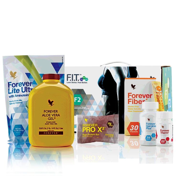 Forever F.I.T. 2 – with 2 Vanilla Forever Lite Ultra® and Chocolate PRO X2™ Bars