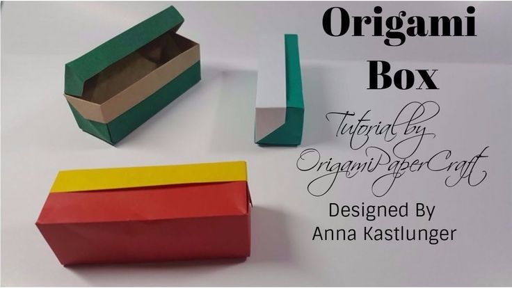 Origami Box | Designed By Anna Kastlunger Tutorial By OrigamiPaperCraft