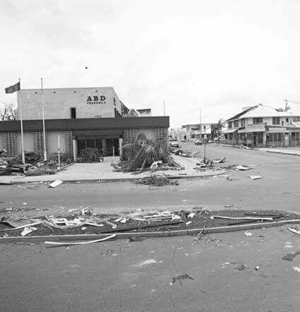 ABC Studios, Darwin, following Cyclone Tracy, 1974