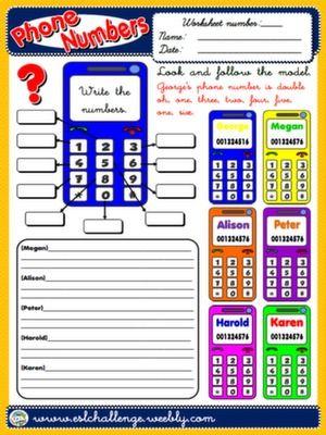 Worksheet Alphabet Counting In English 63 best english alphabet numbers time colours images on pinterest phone worksheet get the pack here httpwww teachenglishstepbystep alphabetnumber