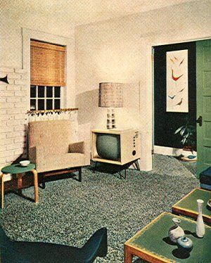 1950's Atomic Ranch House: More 1950's Atomic Mid-Century Interior ...