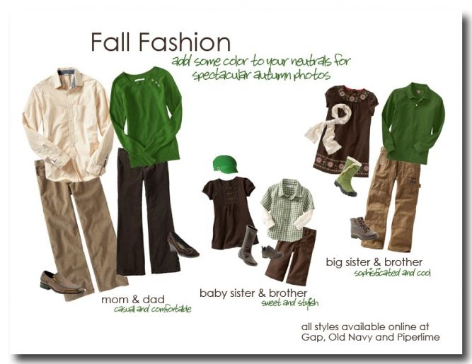 what to wear: fall family photos