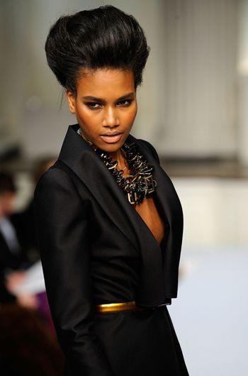 20 best black fashion models images on pinterest black