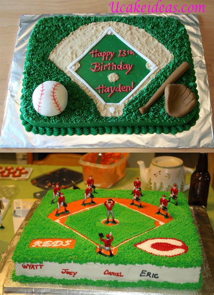 Baseball Field Cake Ideas : 2014 Cake Designs Ideas