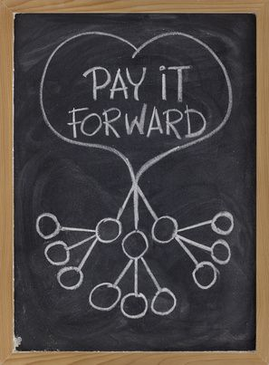 Pay It Forward...It's good for the soul! <3  Don't wait for people to be friendly, show them how. ~Author Unknown