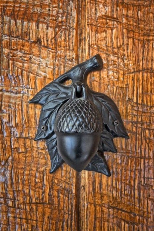 Acorn door knocker & 118 best Door Knockers images on Pinterest | Door handles Door ...