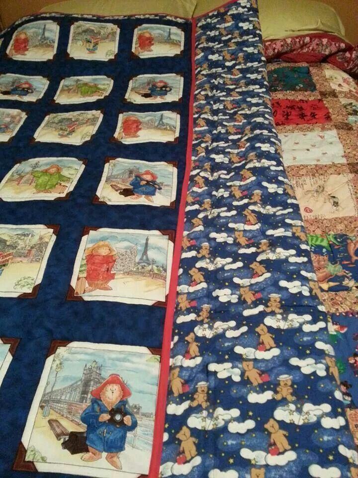 38 best Paddington quilts images on Pinterest | Baby quilts ... : paddington bear quilt - Adamdwight.com