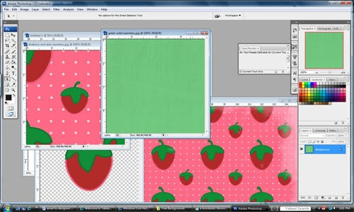 Make your own blog background from cutest blog on the block