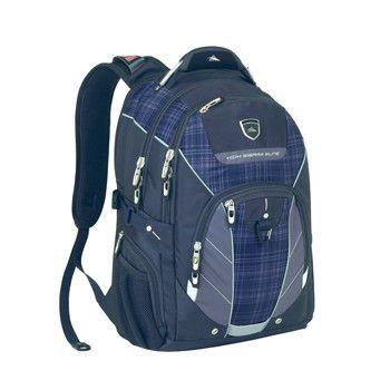 High Sierra Elite Business Backpack - Navy