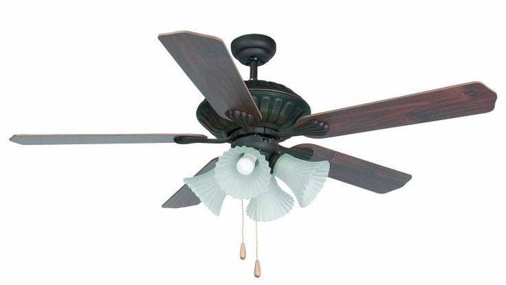 VENTILADOR de techo CORSO 33274 FARO  • Motor fabricado en metal. Acabado marrón oscuro. Difusor cristal  translúcido.  • 5 Palas de madera reversibles en dos colores: caoba rojizo /  roble envejecido.  • Este ventilador tiene función inversa verano/invierno, por lo que podrá utilizarlo también en invierno mejorando la eficiencia de su sistema de calefacción.  • Con luz. 4 Bombillas x E27 máx. 60W.  no incluidas.
