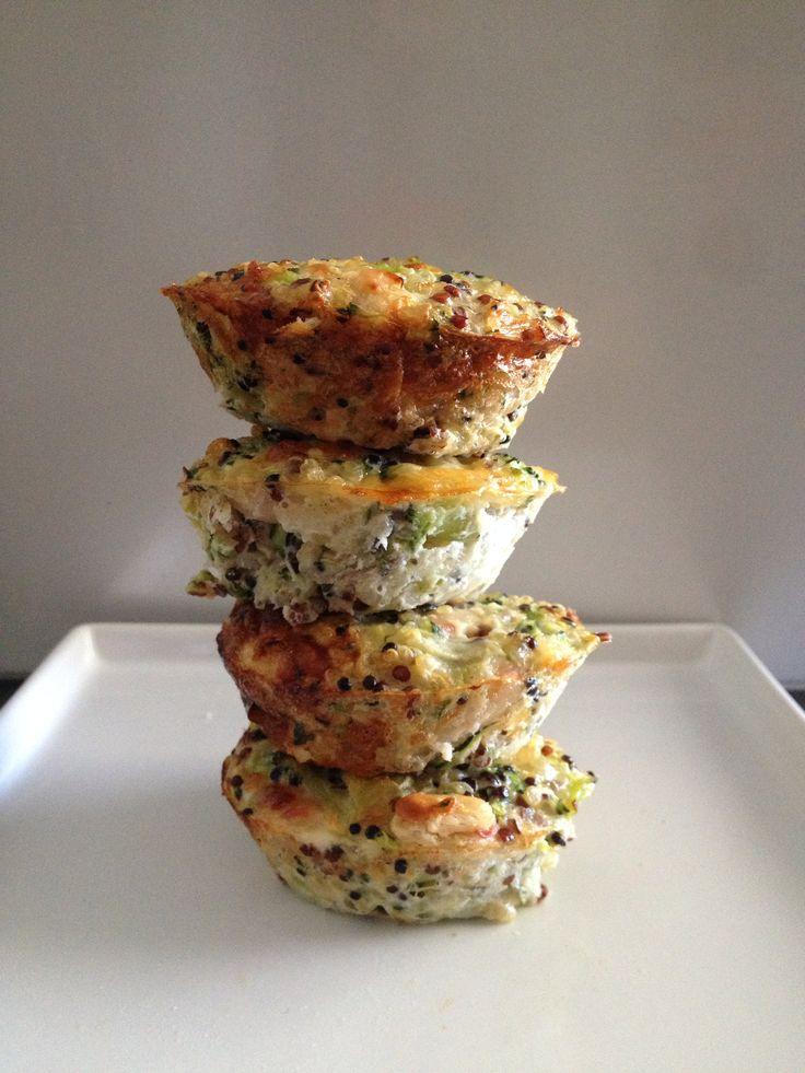 Quinoa and Broccoli Power Bites - Superfood Quinoa...Super Delicious!  #healthytoddlerrecipe