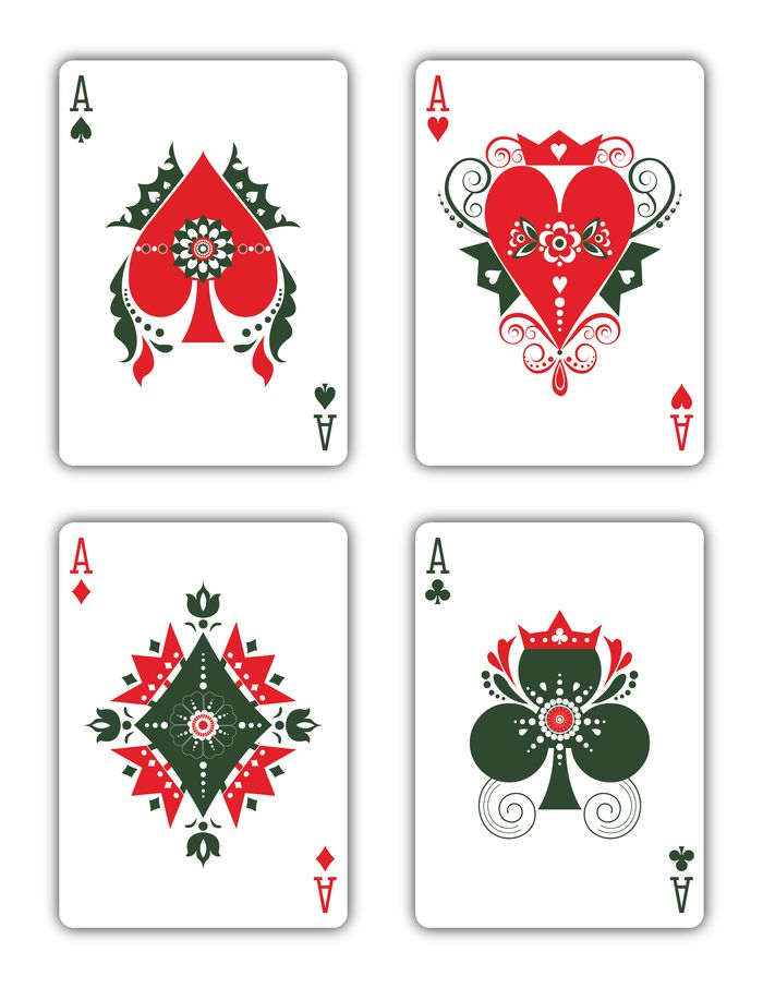 Bicycle Russian Folk Art Playing Cards - Printed by USPCC by Natalia Silva — Kickstarter