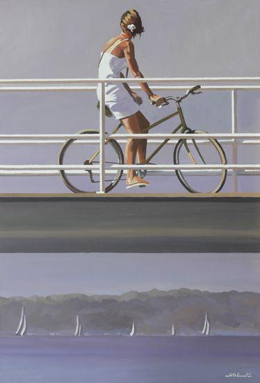 Nicolas ODINET : artiste peintre en Normandie