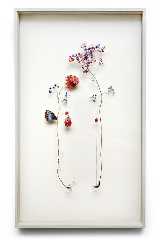 note: Flower construction #24 by Anne Ten Donkelaar