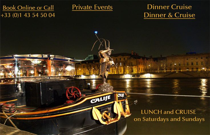Le Calife Dinner Cruise in Paris suggested by #PariswithClaire