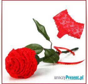 Róża z szorto-stringów  Prezent na Walentynki