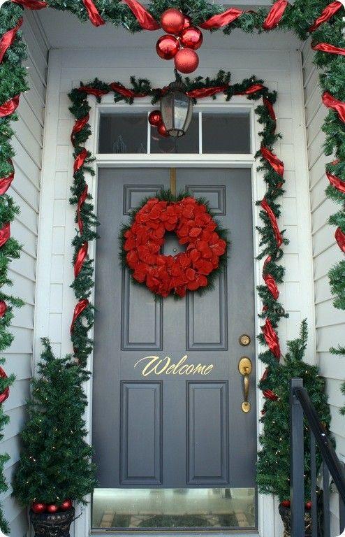 Christmas Christmas Decor Outside Pinterest