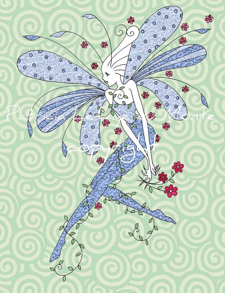 Fairyart by Patrica Lefaye du Monte *