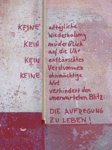 """""""KEINE alltägliche Wiederholung"""" Mixed Media von Juliane Tenner-Hebel jetzt als Poster, Kunstdruck oder Grußkarte kaufen.."""